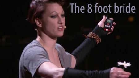 TED: Amanda Tayler, the 8 foot bride
