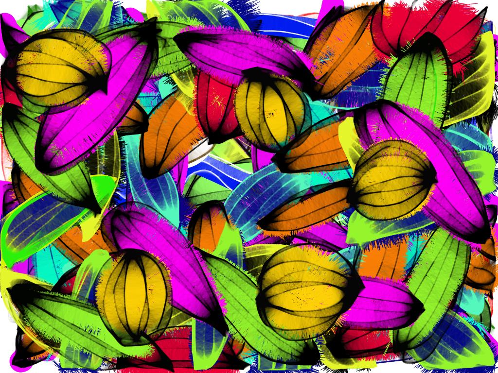 App Art Fruits
