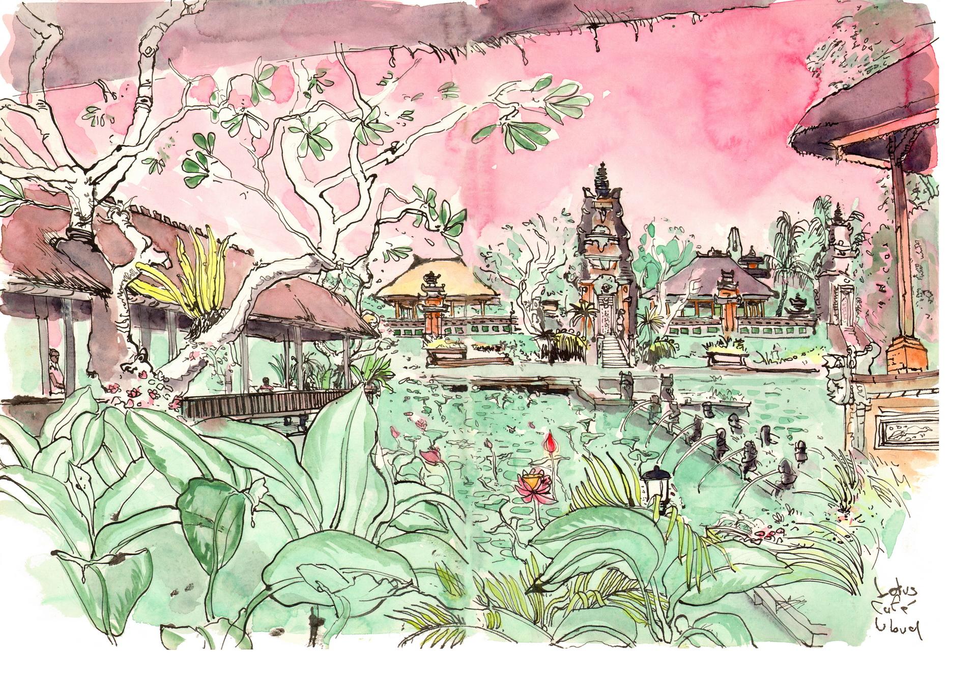 Lotus Café Ubud