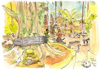 Tree in Nyuh Kuning