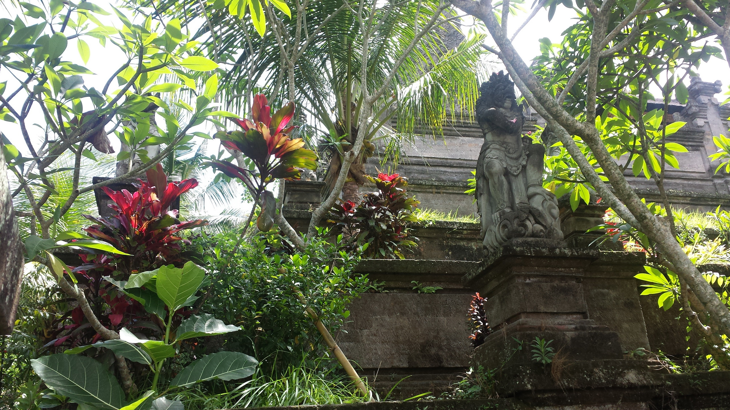 Walking through Ubud >