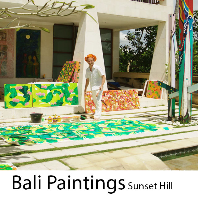 icon  Bali Paintings Sunset Hill