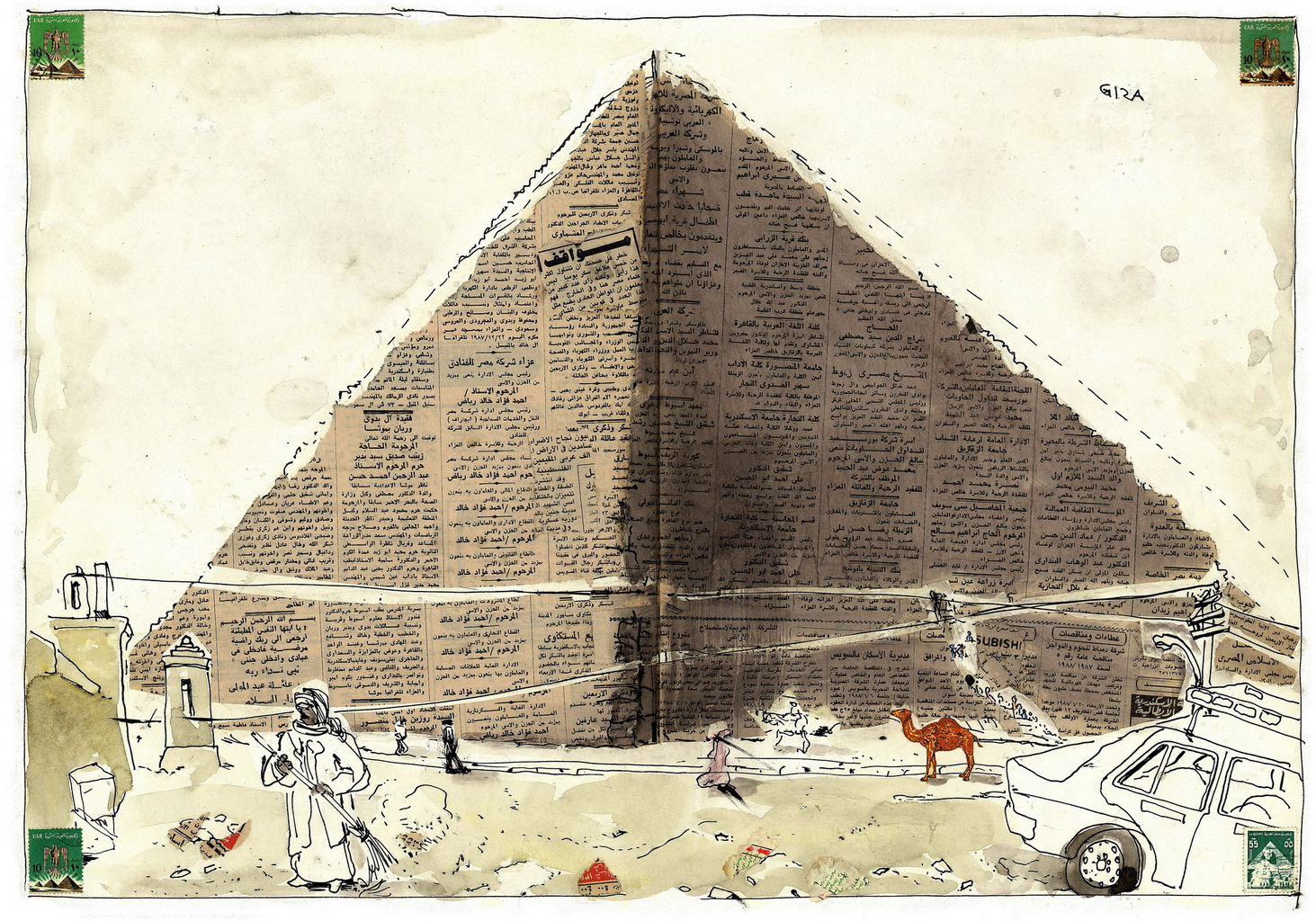 Egypt Sketchbook >