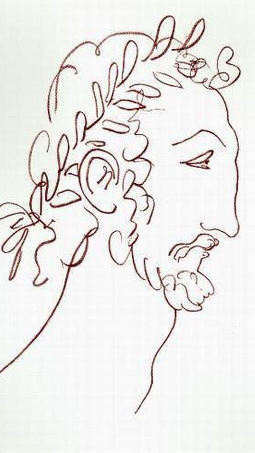 Grieche von Matisse Alt